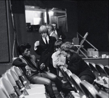 James Brown, Brian Jones, Keith Richards and Mick Jagger