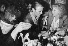 Tom Waits, David Bowie and Bette Midler