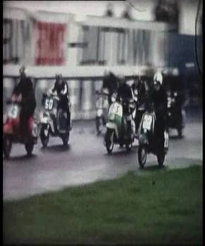 South Devon Lambretta Club Thruxton 1969
