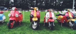 50th Anniversary Lambretta 'S' Type Rally