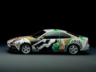 1995 BMW 850 CSi Art Car by David Hockney