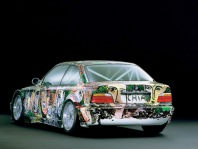 1992 BMW 3 series Touring Art Car by Sandro Chia