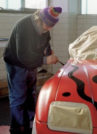 1991 BMW Z1 Art Car by A. R. Penck