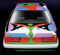 1990 BMW 730i Art Car by Cesar Manrique