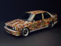1989 BMW M3 Group A Raceversion Art Car by Michael Jagamara Nelson
