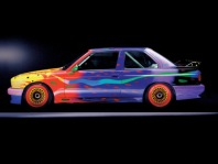 1989 BMW M3 Group A Raceversion Art Car by Ken Done