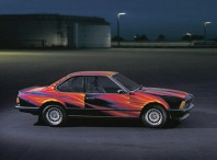 1982 BMW 635 CSi Art Car by Ernest Fuchs