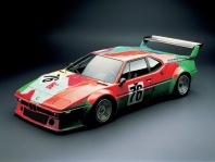 1979 BMW M1 Art Car by Andy Warhol