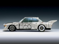 1976 BMW 3.0 CSL Art Car by Frank Stella